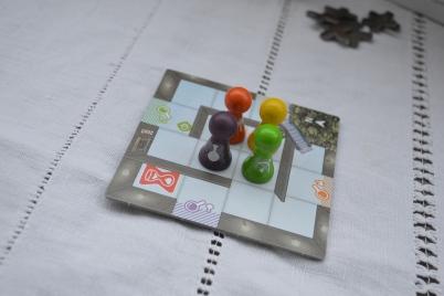 Magic Maze est un jeu de coopération avec communication silencieuse