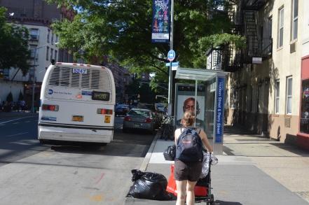 Visiter New York en famille et courir après le bus dans Greenwich Village (façon Friends)