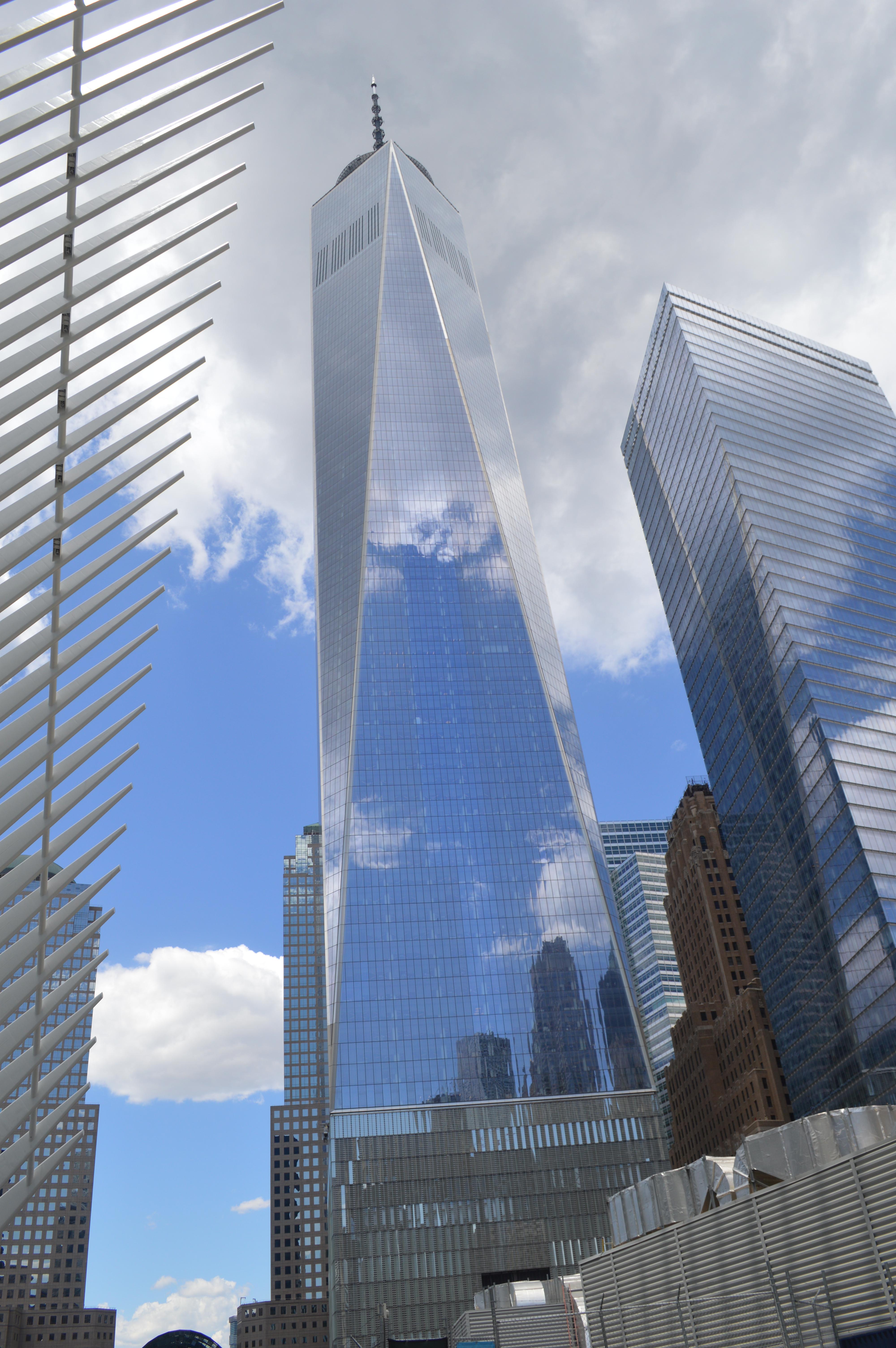 Visiter New York en famille - Le One World Trade Center